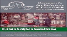 Read 2007/2008 Davenport s Art Reference   Price Guide (Davenport s Art Reference and Price Guide)