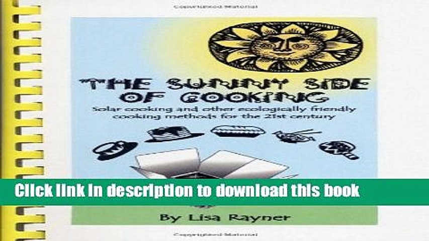 Download Books The Sunny Side of Cooking - Solar cooking and other ecologically friendly cooking | Godialy.com