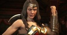 Injustice 2 - Wonder Woman y Blue Beetle Trailer