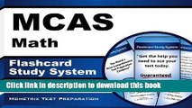 Read MCAS Math Flashcard Study System: MCAS Test Practice Questions   Exam Review for the