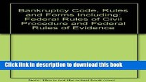 [PDF]  Bankruptcy Code, Rules   Forms Including Federal Rules of Civil Procedure   Federal Rules