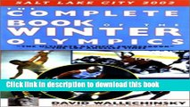 [PDF] The Complete Book of the Winter Olympics (Complete Book of the Olympics) Read Online