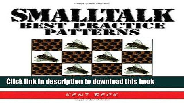 Download Smalltalk Best Practice Patterns Ebook Free