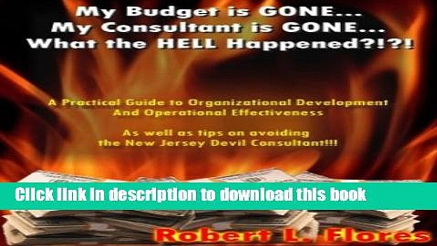 Read My Budget Is Gone My Consultant Is Gone What The Hell Happened A Practical Guide To Video Dailymotion