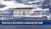 Read Recasting the Machine Age: Henry Ford s Village Industries  Ebook Free