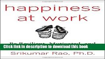 Read Happiness at Work: Be Resilient, Motivated, and Successful - No Matter What  Ebook Free