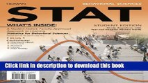 Read Books Behavioral Sciences STAT (with Review Cards and Psychology CourseMate with eBook