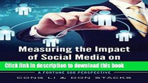 Read Measuring the Impact of Social Media on Business Profit   Success: A Fortune 500 Perspective