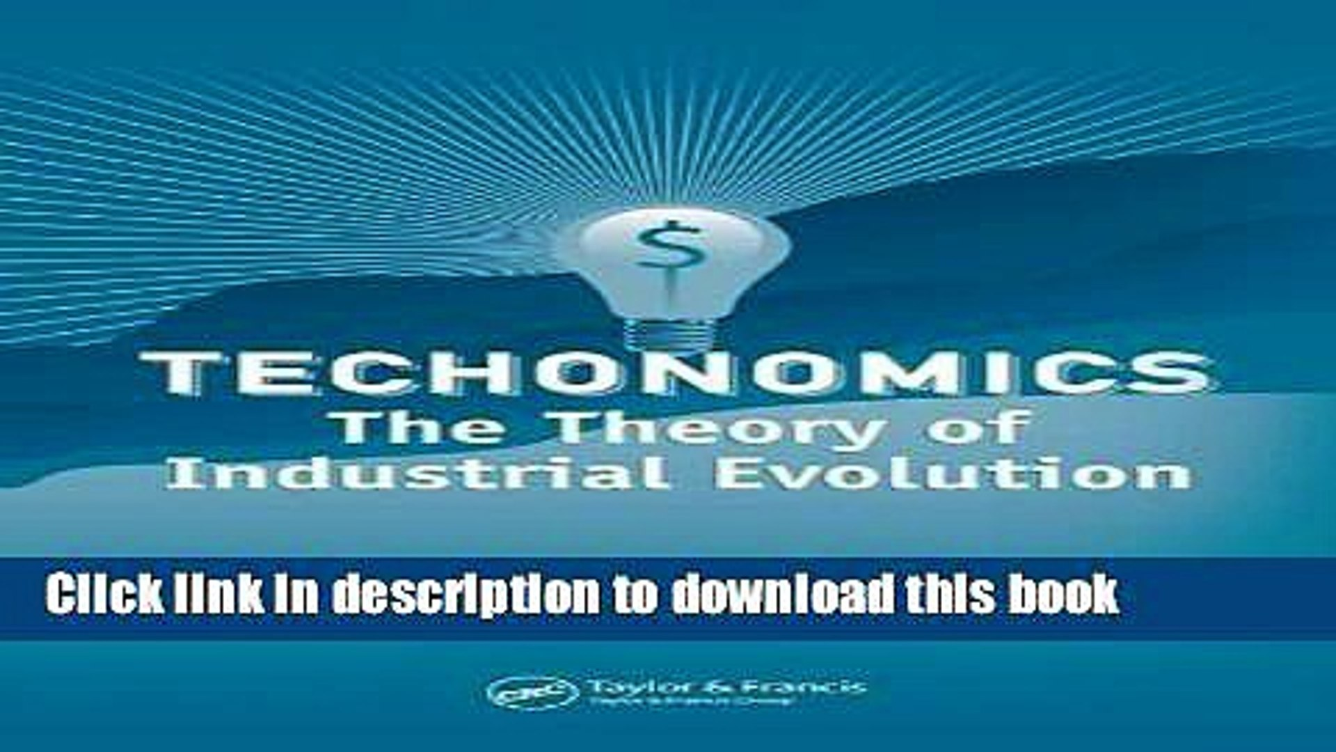 The Theory of Industrial Evolution, 1st Edition