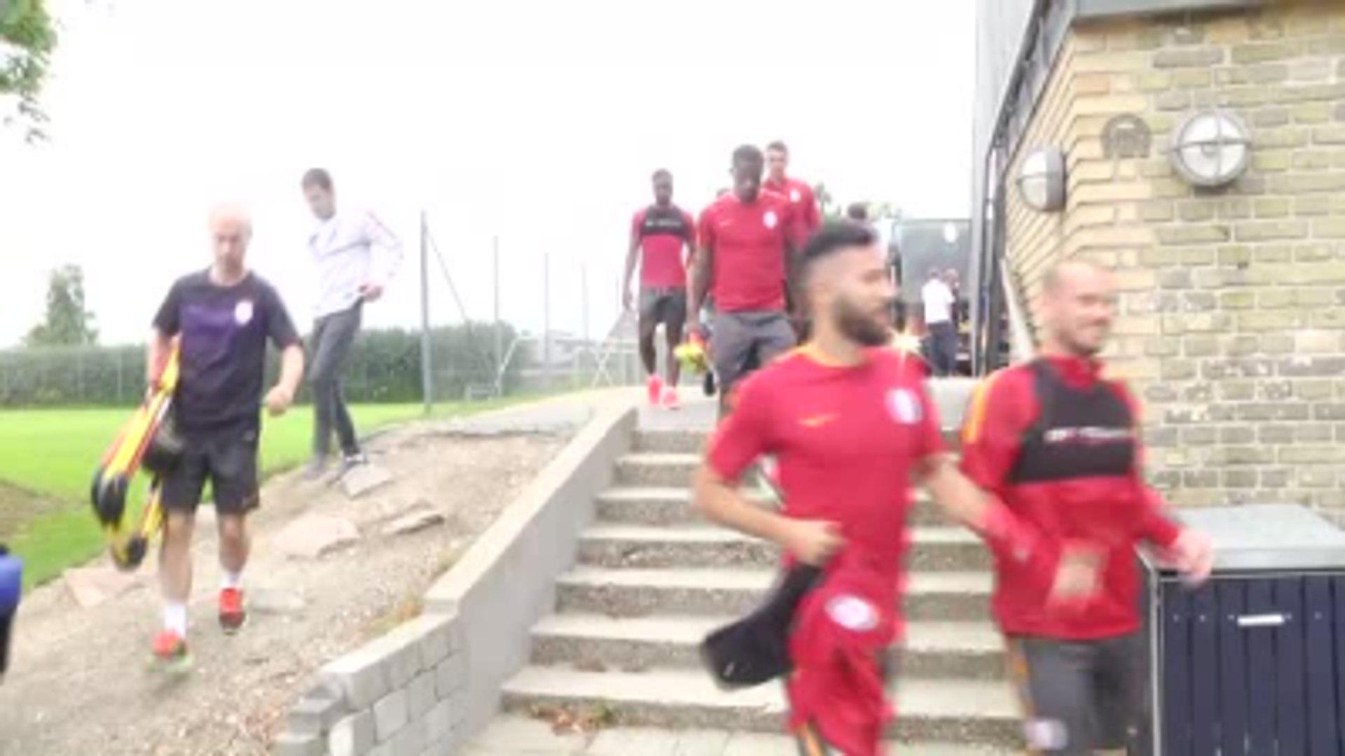 Galatasaray'ın Danimarka Kampı Başladı