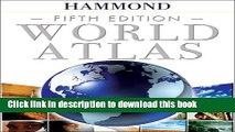 Read Hammond World Atlas Fifth Edition  PDF Free