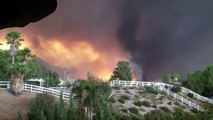 BREAKING- Nearly 10,000 firefighters have been battling to bring a California wildfire No Control