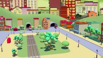 The Garbage Truck and Troy the Train - Trains & Trucks construction cartoons for children