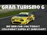 GT6 Gran Turismo 6   User Created Tracks   Zandvoort   6 Lap Race Yellowhat Supra YMS