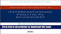 Read Books Advanced Introduction to International Political Economy (Elgar Advanced Introduction)