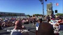 Insolite - Des violons sur le sable - 2016/07/26