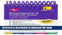 Read Emergency     Critical Care Pocket Guide, ACLS Version Ebook Free