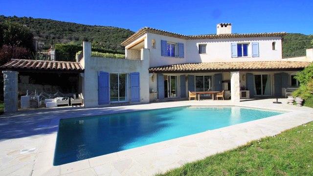 06140 Tourrettes-Sur-Loup - VENTE VILLA belle vue Mer et village - 200 m² sur terrain de 1500 m2 avec Piscine