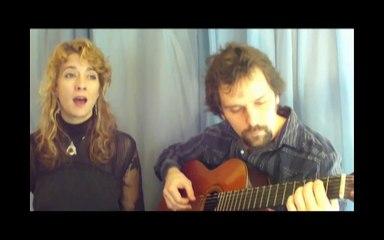 imagine by john lennon cover acoustic Will and Karen