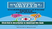 [PDF]  Communication Skills for Nurses (Student Survival Skills)  [Download] Full Ebook