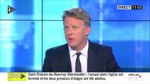 """EN DIRECT - Prise d'otages dans une église près de Rouen: Les deux hommes qui ont pris en otage 5 personnes ont été """"ne"""