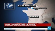 """Prise d'otages dans une église : Coups de feu, des blessés : les 2 assaillants """"neutralisés"""""""