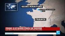 """Prise d'otages dans une église près de Rouen - Le prêtre tué, les 2 assaillants """"neutralisés"""""""