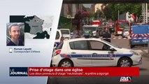 Prise d'otage en France: le prêtre égorgé