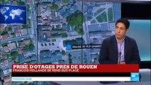 """Prise d'otages dans une église à Saint-Etienne-du-Rouvray : """"Un hôpital psychiatrique est à côté de l'église"""""""