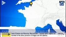 Prise d'otages dans une église en France