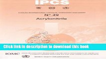 Read Acrylonitrile Ebook Free