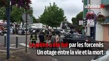 Prise d'otages en Seine-Maritime : le prêtre tué et deux suspects abattus