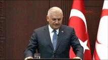 Başbakan Yıldırm ile KKTC Başbakanı Hüseyin Özgürgün Ortak Basın Toplantısında Konuştu -3