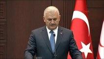 Başbakan Yıldırm ile KKTC Başbakanı Hüseyin Özgürgün Ortak Basın Toplantısında Konuştu -2