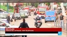 Un témoin de la tuerie dans l'église de Saint-Étienne-du-Rouvray