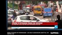 Prise d'otages en Normandie : Les deux suspects abattus, un prêtre tué