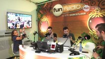 Dyro en interview chez Fun Radio à Tomorrowland