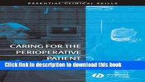 Read Caring for the Perioperative Patient: Essential Clinical Skills Ebook Free