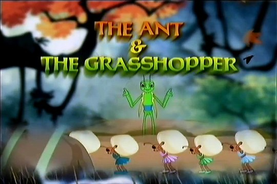 The Ant & The Grasshopper !! Funny Animated English Stories !! Kids Collection