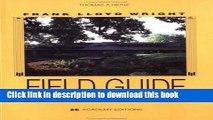 Read Frank Lloyd Wright Field Guide, Upper Great Lakes: Minnesota, Wisconsin, Michigan  Ebook Free
