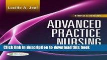 Read Advanced Practice Nursing: Essentials of Role Development Ebook Free