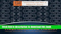 [PDF] African Journal of Reproductive Health: Vol.19, No.1 March 2015  Full EBook