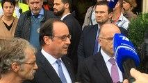 François Hollande s'exprime à la mairie de