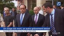 Prise d'otages dans une église à Rouen: «Deux terroristes se réclamant de Daesh» selon François Hollande