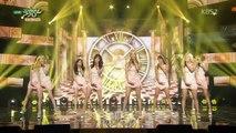 Girls' Generation 소녀시대_Front-Runner Stage 'Lion Heart'_KBS MUSIC BANK_2015.09.11