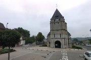 Prise d'otages dans une église en France  à Saint-Etienne-du-Rouvray