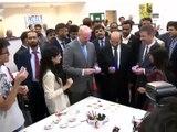 Sindh Chief Minister SYED QAIM ALI SHAH Inaugurated Lincoln Corner