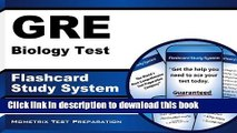 Read GRE Biology Test Flashcard Study System: GRE Subject Exam Practice Questions   Review for the