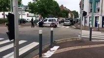 Prise d'otage à St Etienne du Rouvray - d'importants moyens policiers