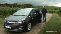 Essai Opel Zafira restylé: le boomerang n'est plus